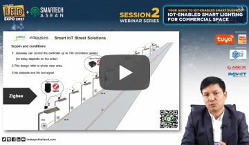 Session 2: IoT-Enabled Smart Lighting for Commercial Space